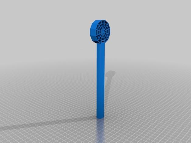 蜘蛛网形魔杖 3D模型  图3