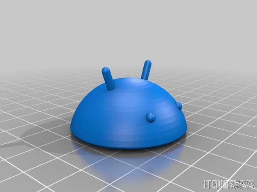 迷你安卓机器人 3D模型  图5