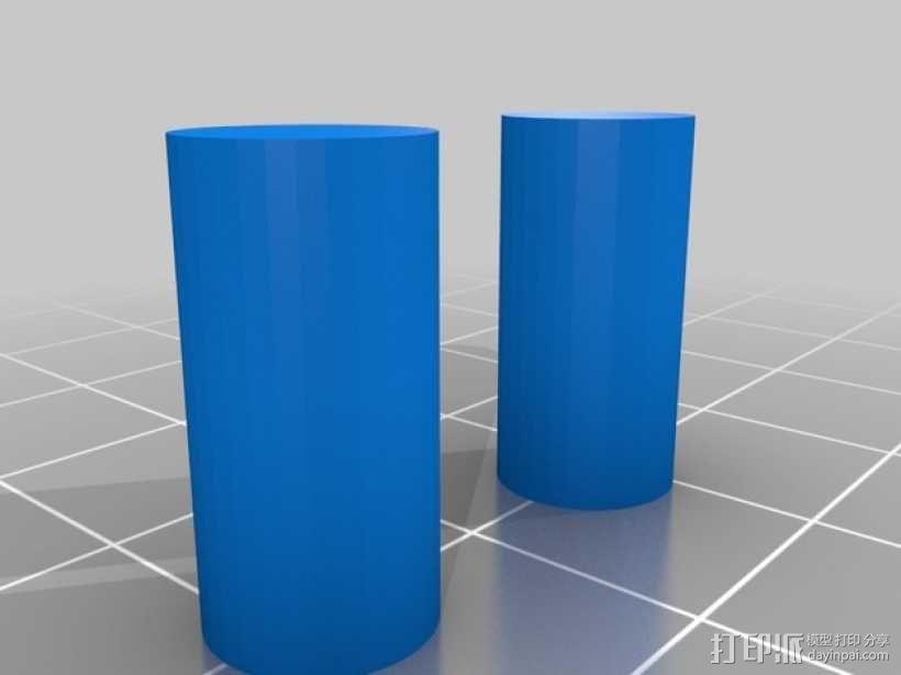迷你安卓机器人 3D模型  图4