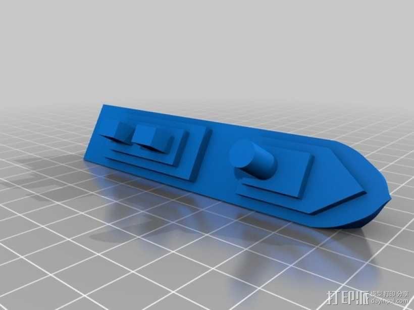 超级战舰模型 3D模型  图2