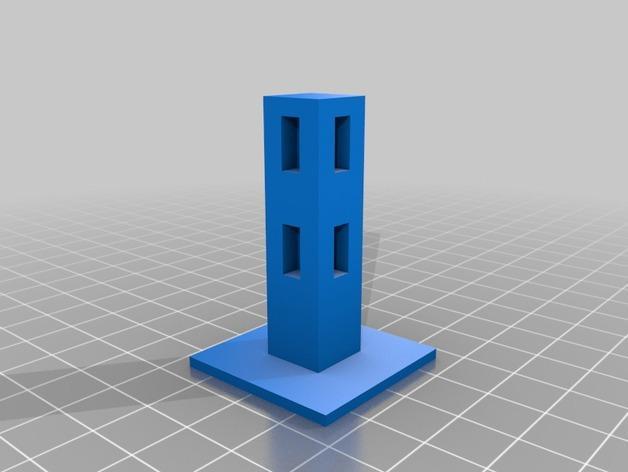 Minecraft:栅栏 3D模型  图2