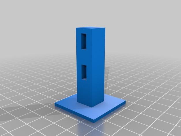 Minecraft:栅栏 3D模型  图4