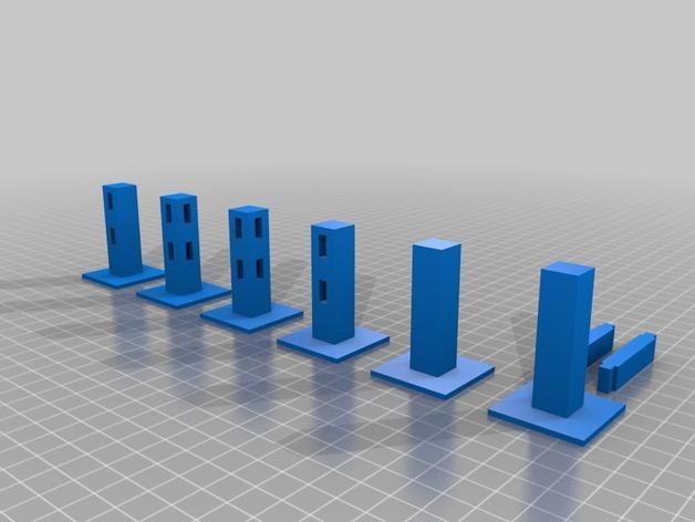 Minecraft:栅栏 3D模型  图5