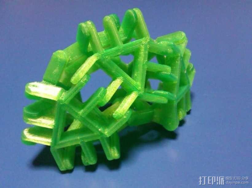 简易多边形玩具 3D模型  图1