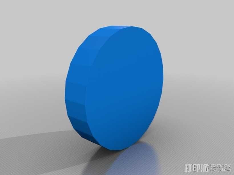 联锁卡坦岛游戏板 3D模型  图1