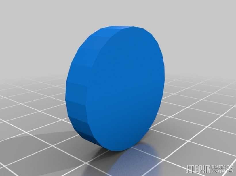 联锁卡坦岛游戏板 3D模型  图2