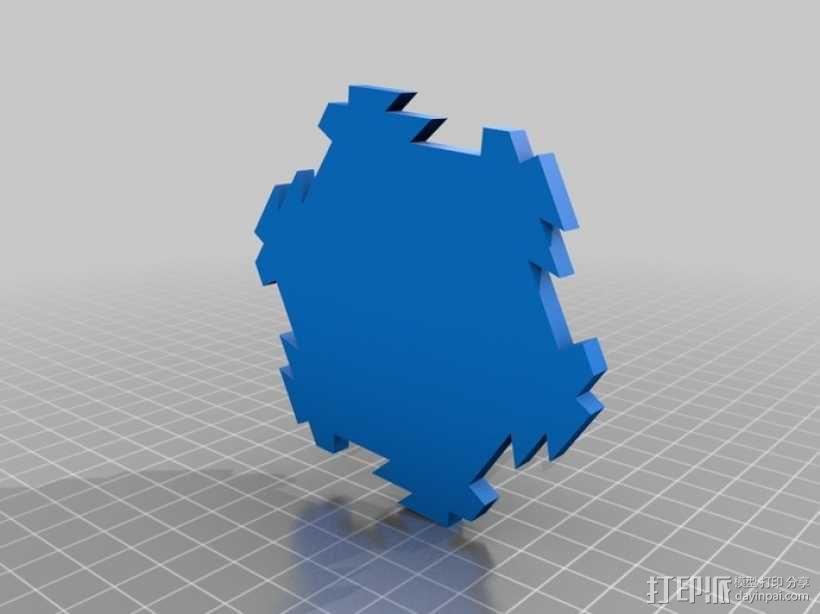 联锁卡坦岛游戏板 3D模型  图8