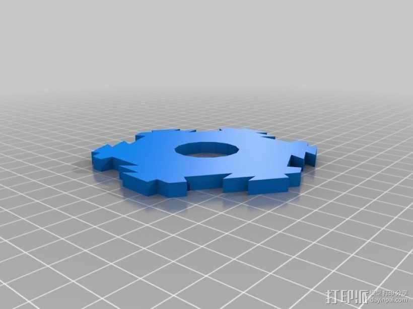 联锁卡坦岛游戏板 3D模型  图9