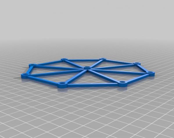 迷你摩天轮模型 3D模型  图4