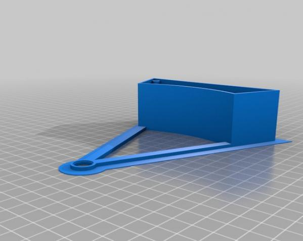 迷你摩天轮模型 3D模型  图2