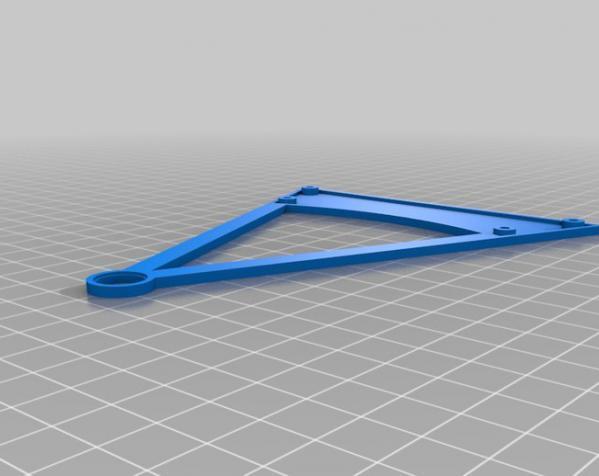 迷你摩天轮模型 3D模型  图3