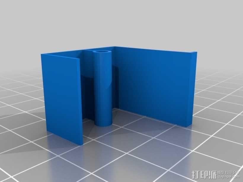 迷你摩天轮模型 3D模型  图7