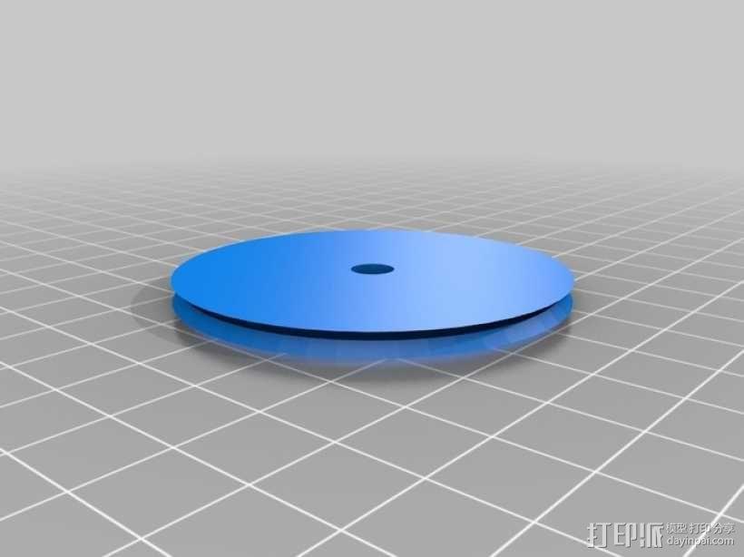 迷你摩天轮模型 3D模型  图9