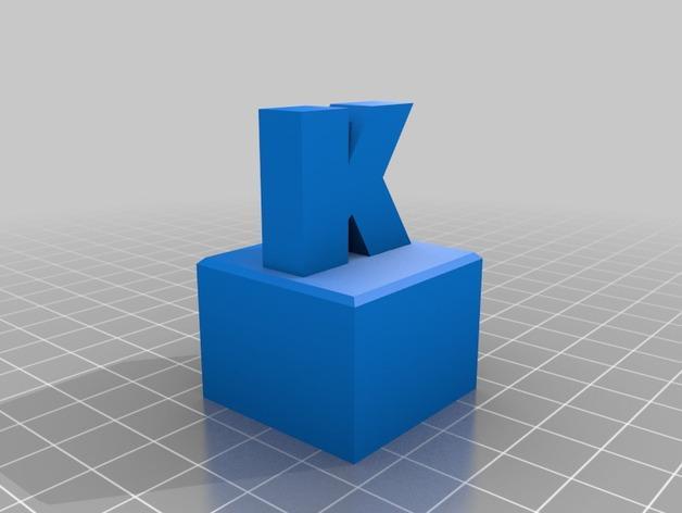 K字形得宝方块 3D模型  图3