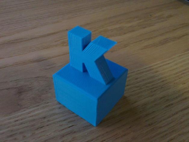 K字形得宝方块 3D模型  图4