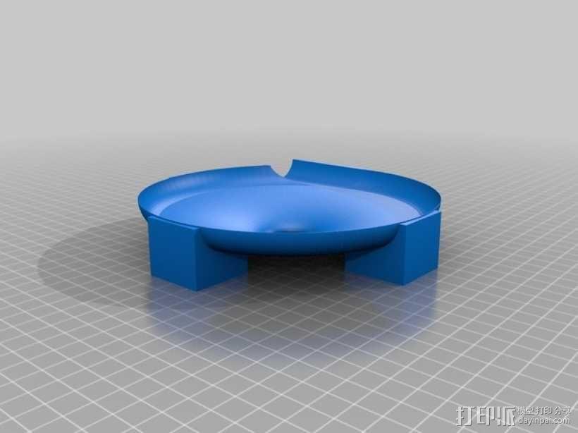 得宝兼容滚珠轨道模型 3D模型  图2