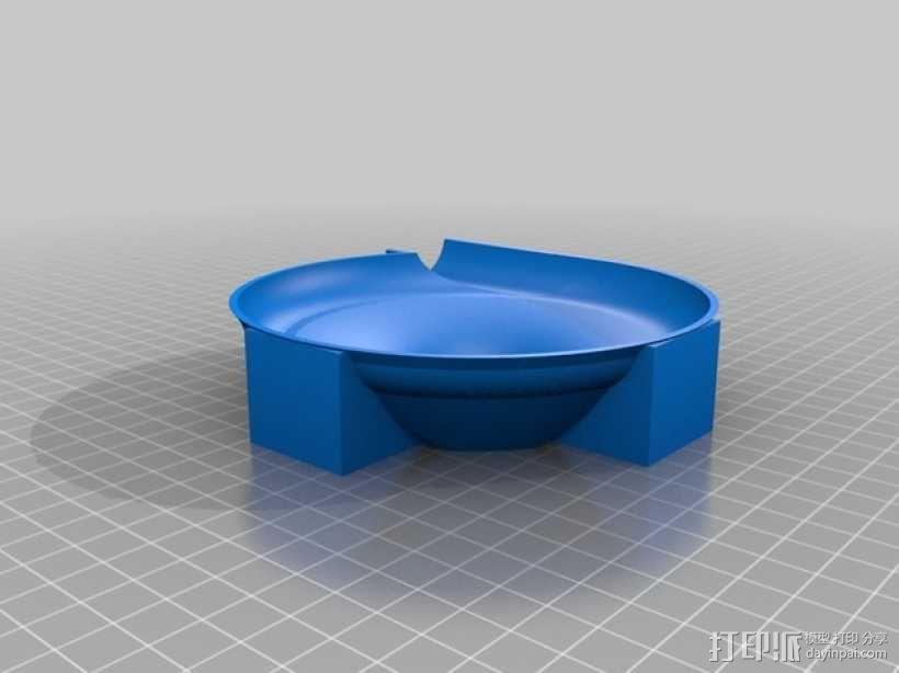 得宝兼容滚珠轨道模型 3D模型  图3
