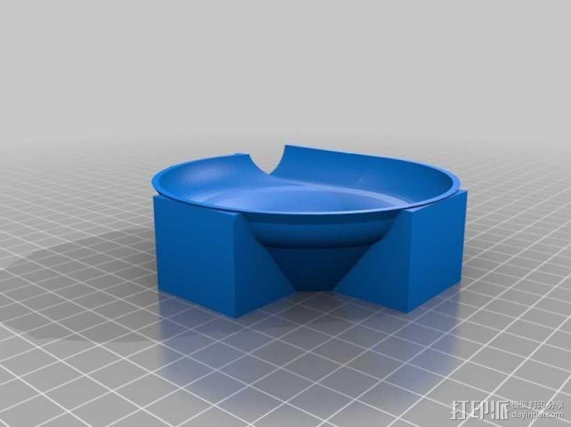 得宝兼容滚珠轨道模型 3D模型  图4