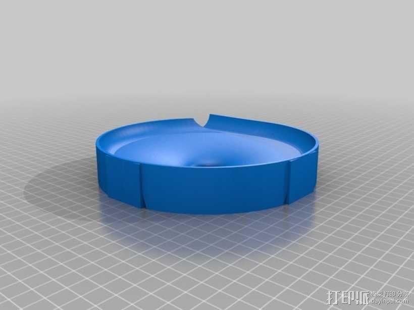 得宝兼容滚珠轨道模型 3D模型  图5