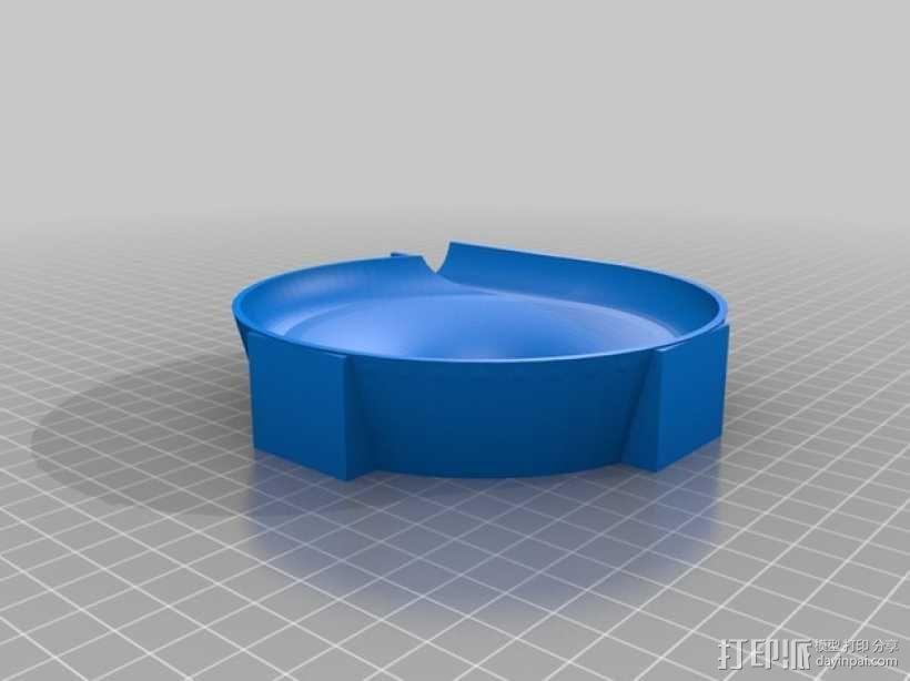 得宝兼容滚珠轨道模型 3D模型  图6