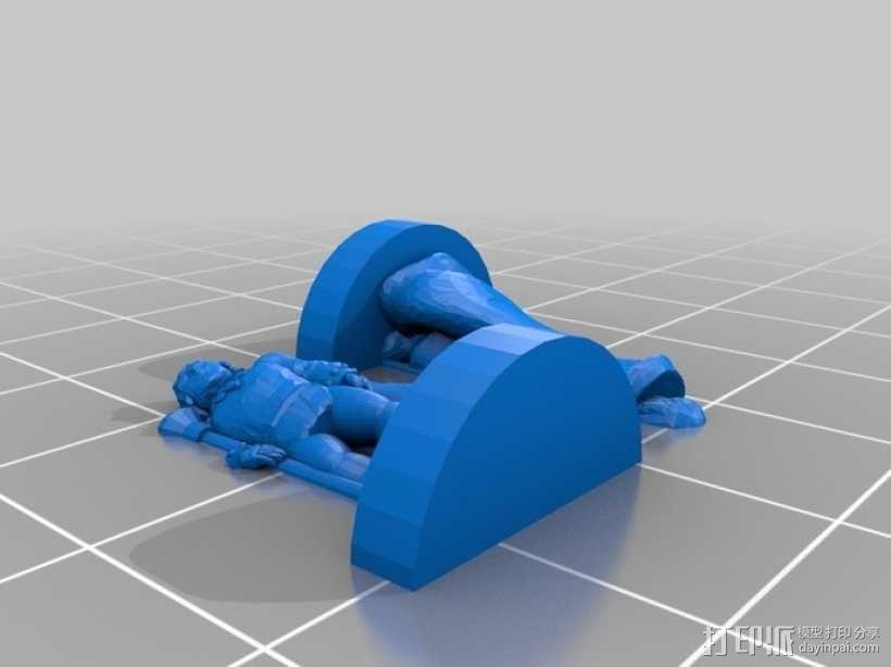 Pocket-Tactics:流浪法师 3D模型  图1