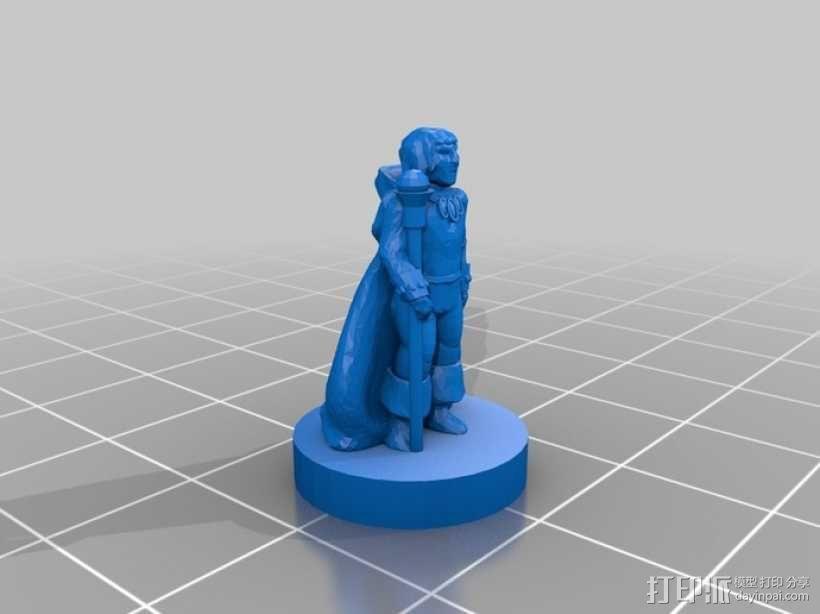 Pocket-Tactics:流浪法师 3D模型  图2