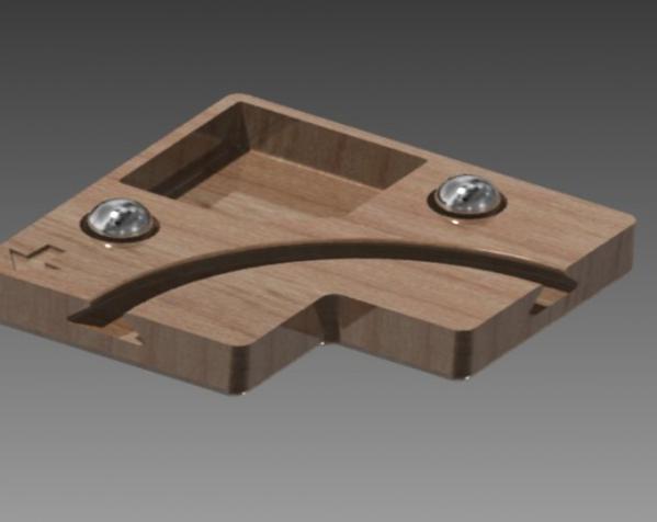 鸠尾榫拼图模型 3D模型  图4