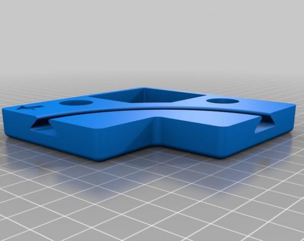 鸠尾榫拼图模型 3D模型  图7
