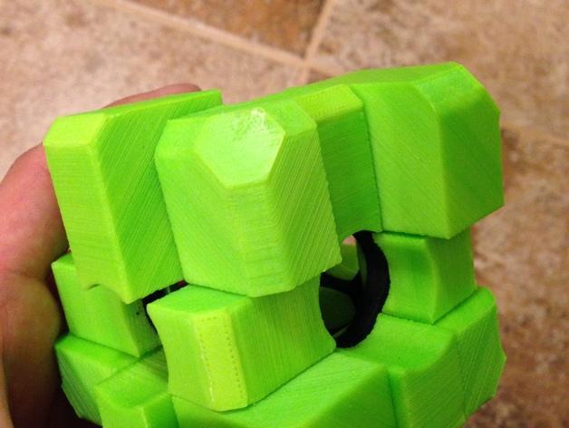 Rubiks空心魔方 3D模型  图1