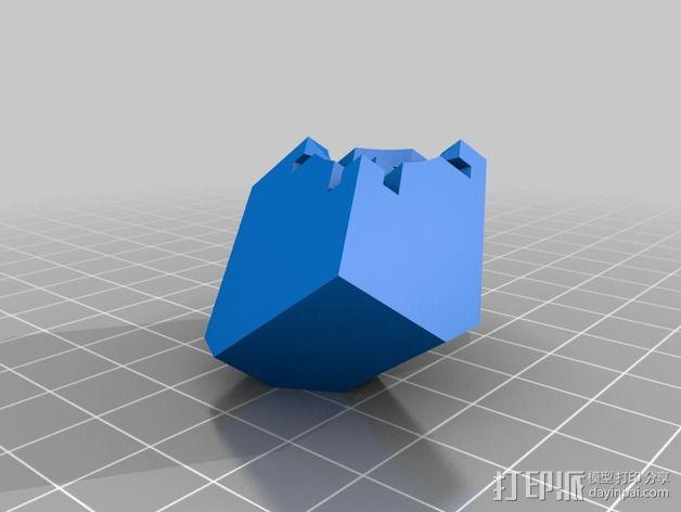 Rubiks空心魔方 3D模型  图5