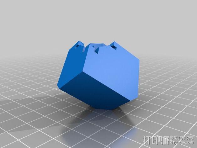 Rubiks空心魔方 3D模型  图11