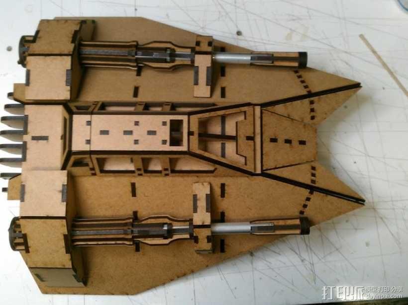 雪地加速器模型 3D模型  图5