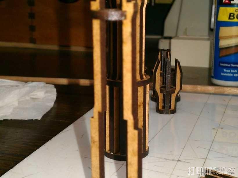 雪地加速器模型 3D模型  图4