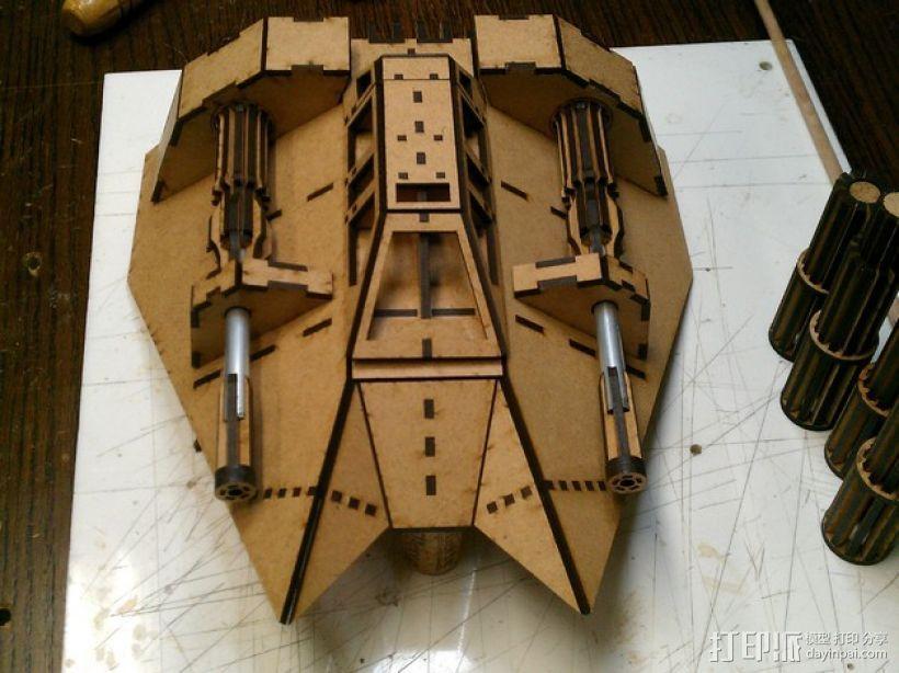 雪地加速器模型 3D模型  图8