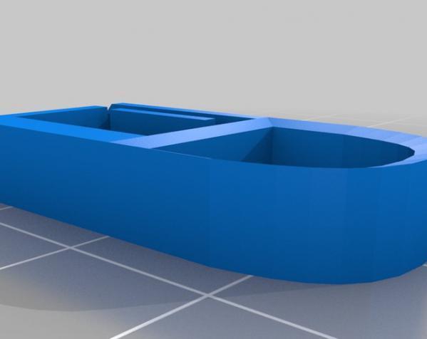 低压瞬时开关外壳模型 3D模型  图2