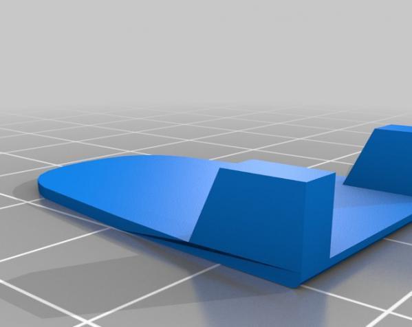 低压瞬时开关外壳模型 3D模型  图3