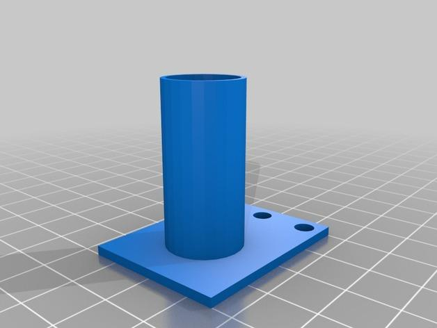 弹球机线轴模型 3D模型  图1