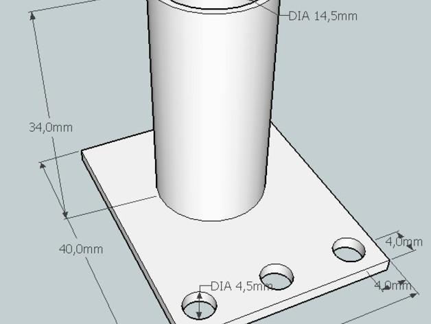 弹球机线轴模型 3D模型  图7