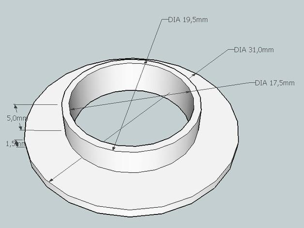 弹球机线轴模型 3D模型  图8