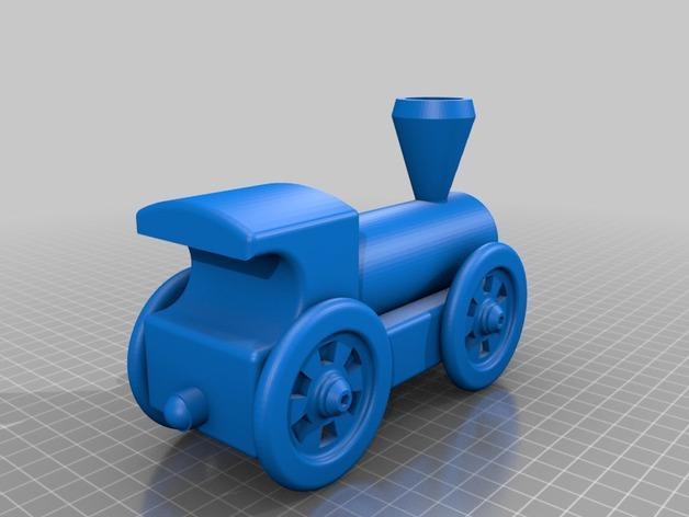迷你小火车 3D模型  图4