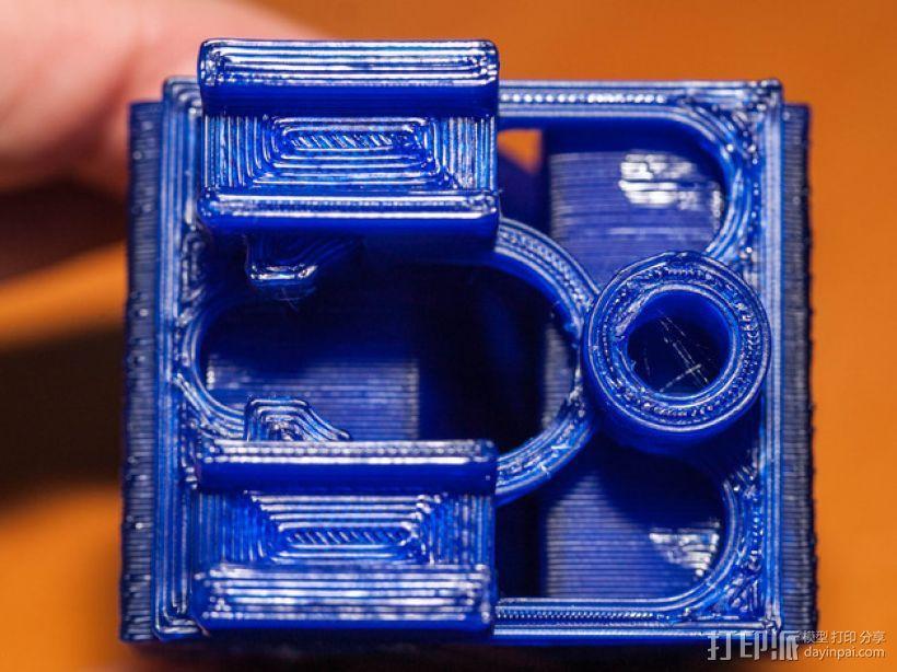 迷你火车桥支撑系统 3D模型  图3