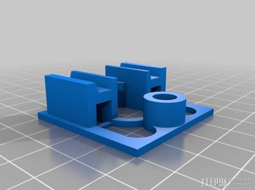 迷你火车桥支撑系统 3D模型  图5