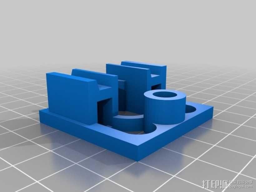 迷你火车桥支撑系统 3D模型  图6