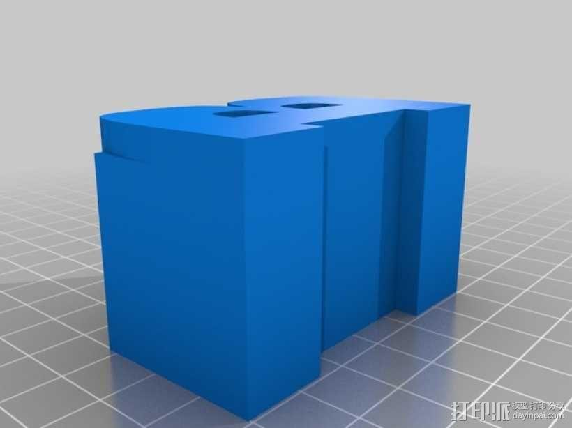 迷你火车桥支撑系统 3D模型  图8