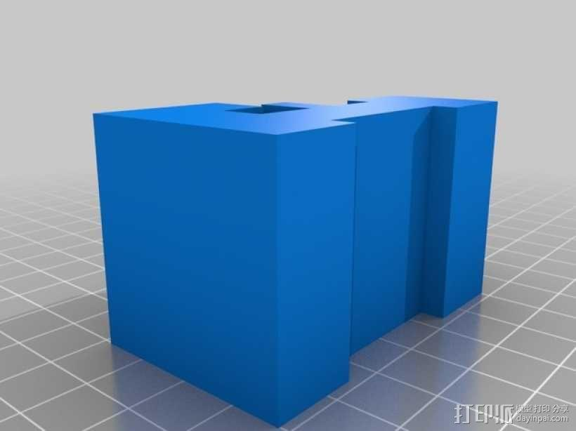 迷你火车桥支撑系统 3D模型  图10