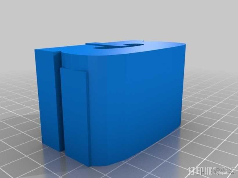 迷你火车桥支撑系统 3D模型  图9