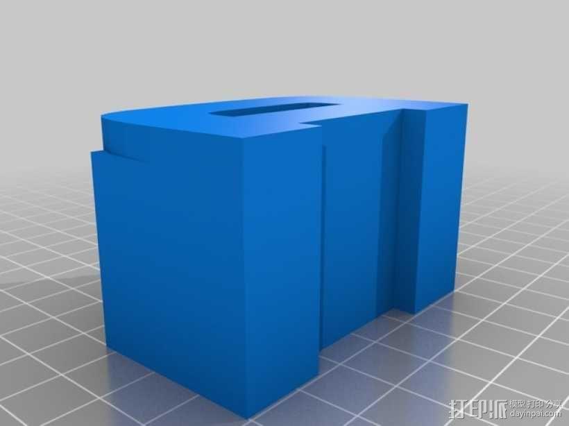 迷你火车桥支撑系统 3D模型  图13