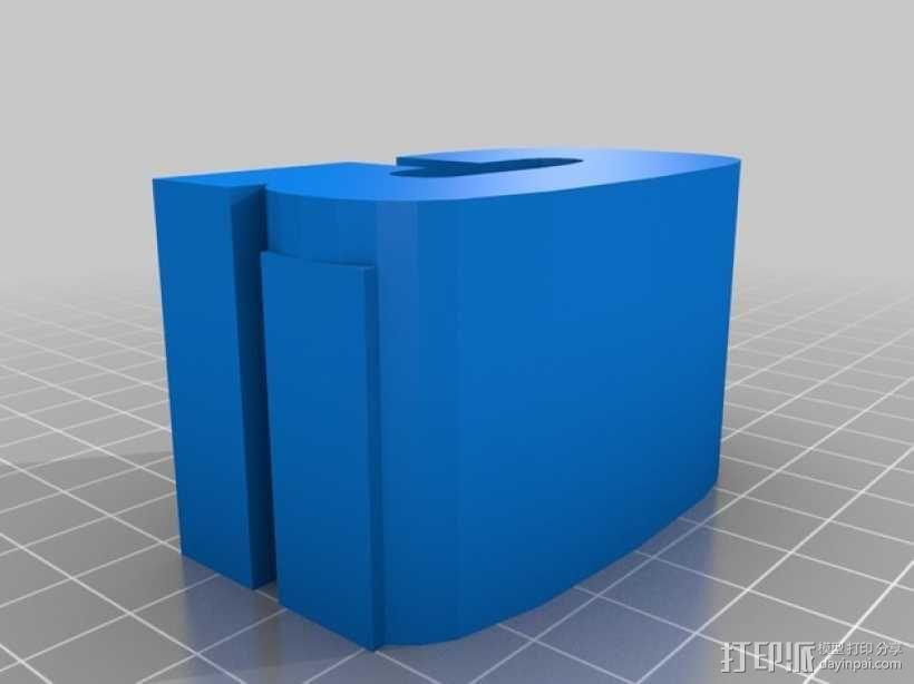 迷你火车桥支撑系统 3D模型  图12