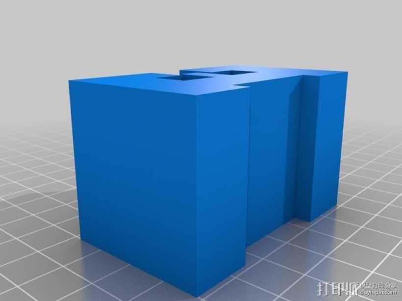迷你火车桥支撑系统 3D模型  图11