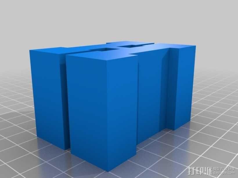 迷你火车桥支撑系统 3D模型  图14